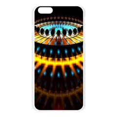 Abstract Led Lights Apple Seamless iPhone 6 Plus/6S Plus Case (Transparent)
