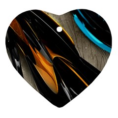 Abstract 3d Ornament (heart)