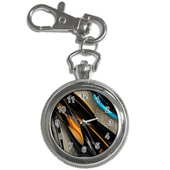 Abstract 3d Key Chain Watches