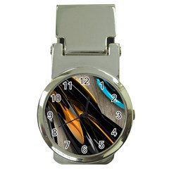 Abstract 3d Money Clip Watches
