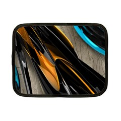 Abstract 3d Netbook Case (small)