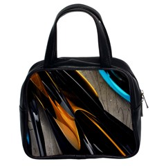 Abstract 3d Classic Handbags (2 Sides)