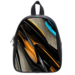 Abstract 3d School Bags (small)