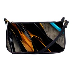 Abstract 3d Shoulder Clutch Bags