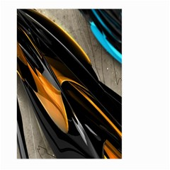 Abstract 3d Large Garden Flag (Two Sides)