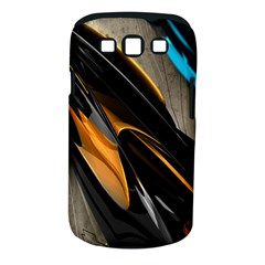 Abstract 3d Samsung Galaxy S Iii Classic Hardshell Case (pc+silicone)