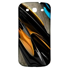 Abstract 3d Samsung Galaxy S3 S Iii Classic Hardshell Back Case