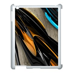 Abstract 3d Apple Ipad 3/4 Case (white)
