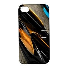 Abstract 3d Apple iPhone 4/4S Hardshell Case with Stand