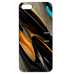 Abstract 3d Apple iPhone 5 Hardshell Case with Stand
