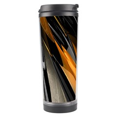 Abstract 3d Travel Tumbler