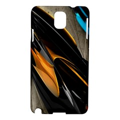 Abstract 3d Samsung Galaxy Note 3 N9005 Hardshell Case