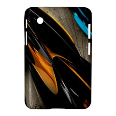 Abstract 3d Samsung Galaxy Tab 2 (7 ) P3100 Hardshell Case