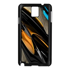 Abstract 3d Samsung Galaxy Note 3 N9005 Case (Black)