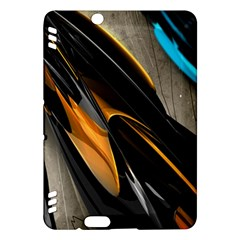 Abstract 3d Kindle Fire HDX Hardshell Case