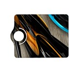 Abstract 3d Kindle Fire HD (2013) Flip 360 Case Front