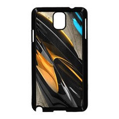 Abstract 3d Samsung Galaxy Note 3 Neo Hardshell Case (Black)