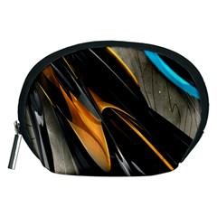 Abstract 3d Accessory Pouches (medium)