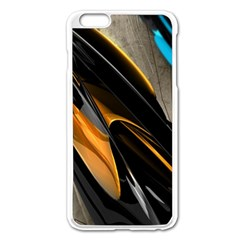 Abstract 3d Apple iPhone 6 Plus/6S Plus Enamel White Case