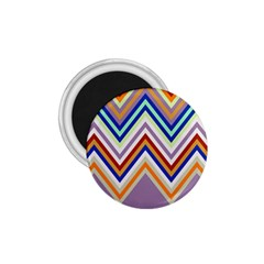 Chevron Wave Color Rainbow Triangle Waves Grey 1 75  Magnets
