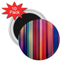 Texture Lines Vertical Lines 2 25  Magnets (10 Pack)