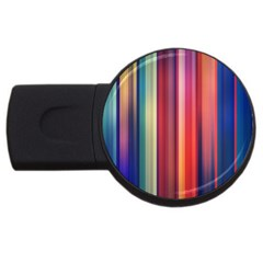 Texture Lines Vertical Lines USB Flash Drive Round (1 GB)