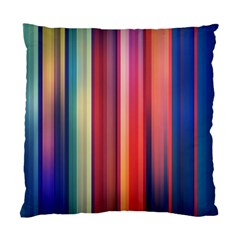 Texture Lines Vertical Lines Standard Cushion Case (two Sides)