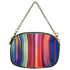 Texture Lines Vertical Lines Chain Purses (two Sides)
