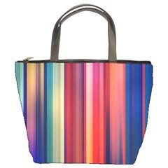 Texture Lines Vertical Lines Bucket Bags