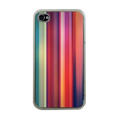Texture Lines Vertical Lines Apple iPhone 4 Case (Clear)