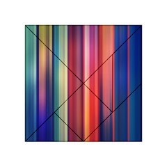 Texture Lines Vertical Lines Acrylic Tangram Puzzle (4  x 4 )