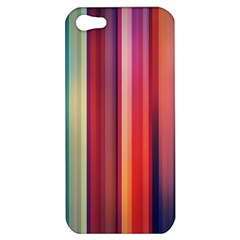Texture Lines Vertical Lines Apple iPhone 5 Hardshell Case