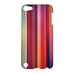Texture Lines Vertical Lines Apple iPod Touch 5 Hardshell Case