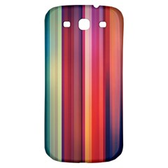 Texture Lines Vertical Lines Samsung Galaxy S3 S III Classic Hardshell Back Case
