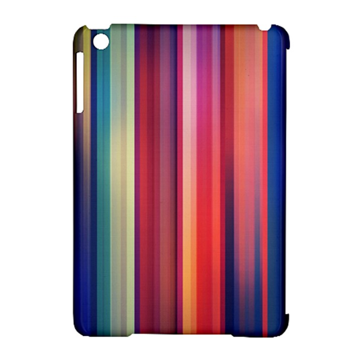 Texture Lines Vertical Lines Apple iPad Mini Hardshell Case (Compatible with Smart Cover)