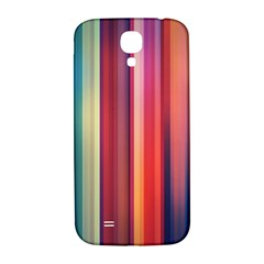Texture Lines Vertical Lines Samsung Galaxy S4 I9500/I9505  Hardshell Back Case