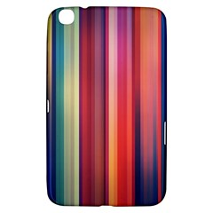 Texture Lines Vertical Lines Samsung Galaxy Tab 3 (8 ) T3100 Hardshell Case