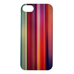 Texture Lines Vertical Lines Apple iPhone 5S/ SE Hardshell Case