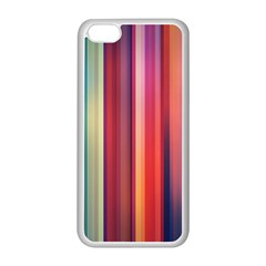 Texture Lines Vertical Lines Apple Iphone 5c Seamless Case (white)