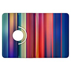 Texture Lines Vertical Lines Kindle Fire HDX Flip 360 Case