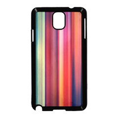 Texture Lines Vertical Lines Samsung Galaxy Note 3 Neo Hardshell Case (Black)