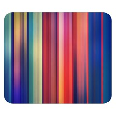 Texture Lines Vertical Lines Double Sided Flano Blanket (small)