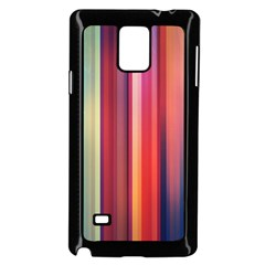 Texture Lines Vertical Lines Samsung Galaxy Note 4 Case (Black)