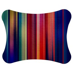 Texture Lines Vertical Lines Jigsaw Puzzle Photo Stand (bow)