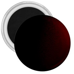 Abstract Dark Simple Red 3  Magnets