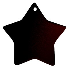 Abstract Dark Simple Red Ornament (Star)