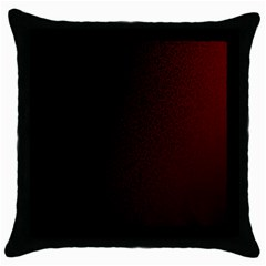 Abstract Dark Simple Red Throw Pillow Case (black)