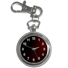 Abstract Dark Simple Red Key Chain Watches