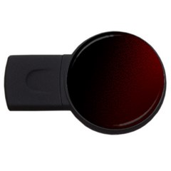 Abstract Dark Simple Red USB Flash Drive Round (2 GB)