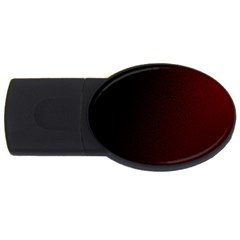 Abstract Dark Simple Red USB Flash Drive Oval (1 GB)